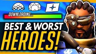 Overwatch   PTR Turbo Meta! - Best & Worst Heroes (Winners & Losers Kinda)