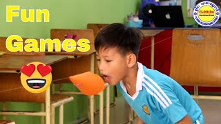 Blow the Cone || Classroom Game || Christmas Party Game || Parlor Game || Fun Games || Simple Games