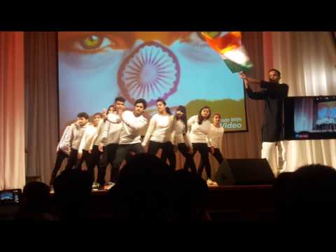 Altai state medical university Russia doctor's day special Indian dance