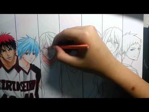 Speed dessin   Kiseki no Sedai Kuroko no Basket