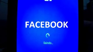 TUTORIAL COMO SAIR DO FACEBOOK PELO SMARTPHONE ANDROID SUPER FACIL