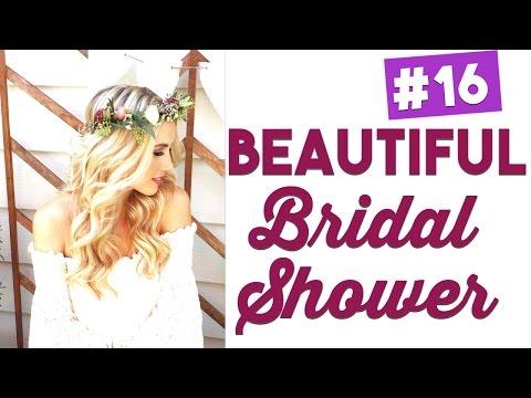 My Absolutely Amazing Bridal Shower! Wedding Wednesday ep 16