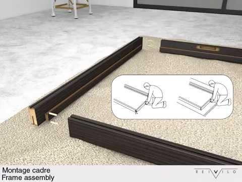 vicaima portaro door kit installation doovi. Black Bedroom Furniture Sets. Home Design Ideas