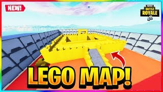 *NEW* LEGO DEATHMATCH MAP IN FORTNITE! | Map Code In Description | Fortnite Creative