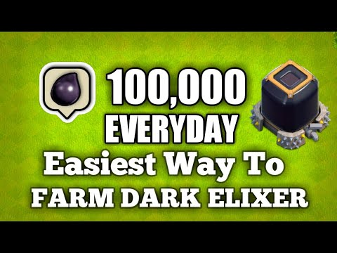 How to Farm 100,000 Dark Elixer Every day!!