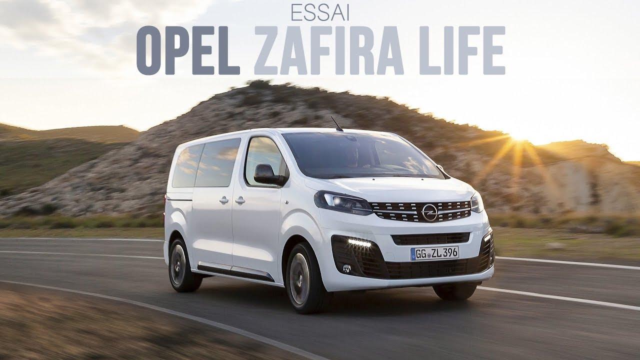 Essai Opel Zafira Life 2019