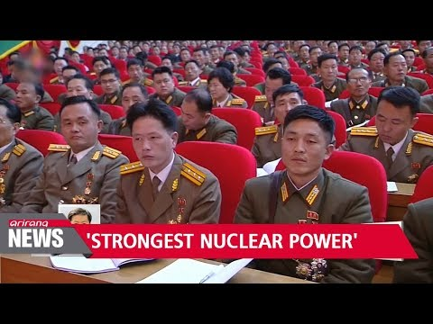 Download Youtube: Kim Jong-un vows to make North Korea 'world's strongest nuclear power'