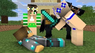 diamond man life 6  -  minecraft animations
