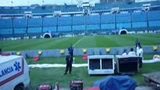 Visitando el Estadio Azul