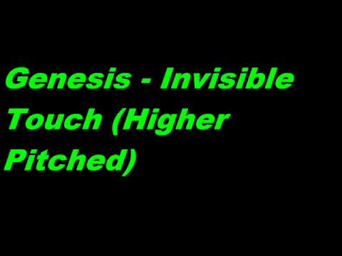 Genesis - Invisible Touch (Higher Pitched)