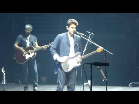John Mayer - Waiting on the World to Change 4/11/17 United Center  Chicago, IL