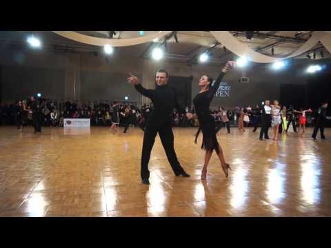 2016 Korea open Dancesports Professional latin 2Round Rumba Dorin Frecautanu - Marina Sergeeva