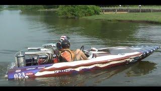650HP Drag Boat Runs