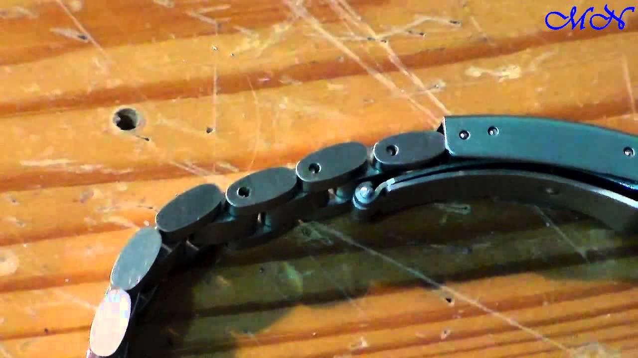 как поменять браслет на часах porsche