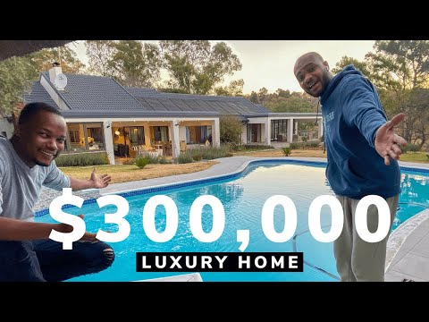 Touring a VISIONARY $300,000 Luxury Home in Johannesburg, South Africa.