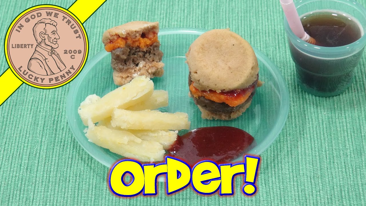 Yummy Nummies Best Ever Mini Burger Maker - Kitchen Magic - YouTube