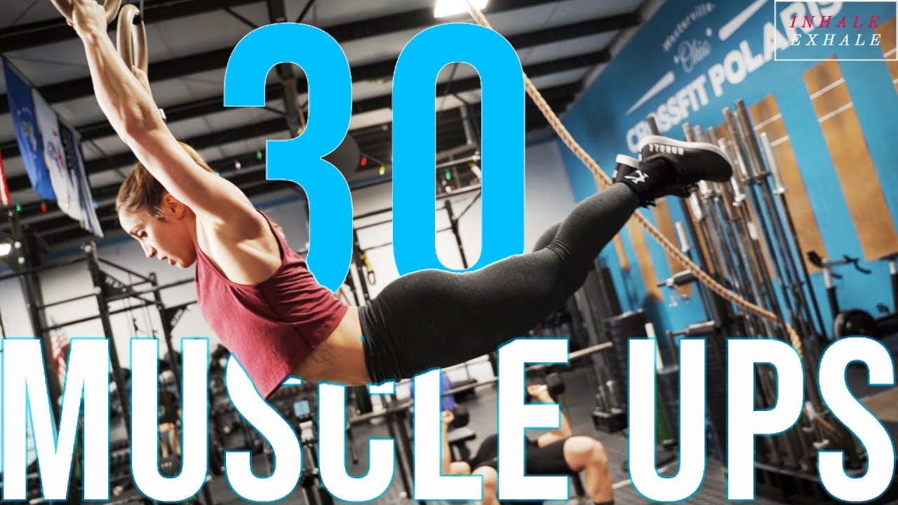 Download CROSSFIT GAMES ATHLETE 30 MUSCLE UPS FOR TIME!