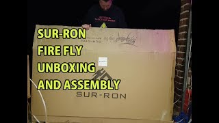 Sur-Ron electric dirt bike unboxing and assembly