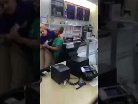 UDF store fight in Columbus ohio