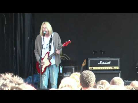 Nirvana tribute band Nervana - Smells Like Teen Spirit - Mathew Street Festival Liverpool 2010