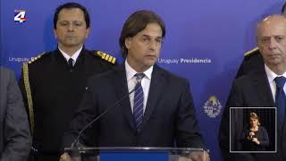 Poder Ejecutivo decretó Duelo Nacional lunes y martes por el asesinato de tres infantes de marina