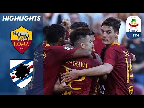 Roma 4-1 Sampdoria | El Shaarawy Double As Roma Ease Past Sampdoria | Serie A