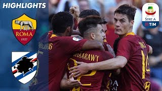Download Video Roma 4-1 Sampdoria | El Shaarawy Double As Roma Ease Past Sampdoria | Serie A MP3 3GP MP4