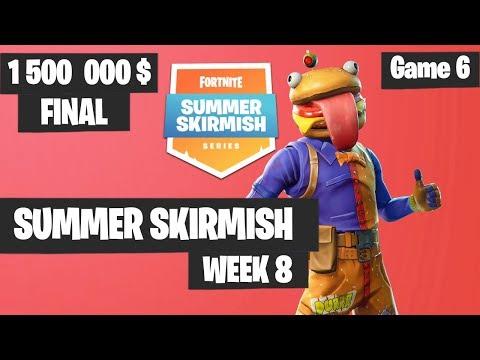 Fortnite Summer Skirmish Week 8 Day 4 Grand Final Game 6 Highlights PAX WEST