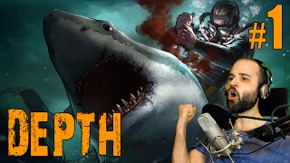 Depth 1 Brutal Submarinistas Vs Tiburones Gameplay Español Youtube