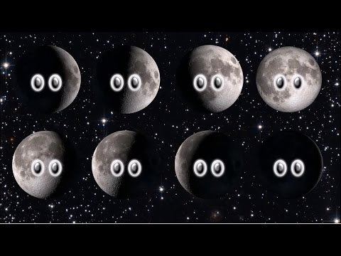Phases of the Moon - The Kids' Picture Show (Fun & Educational Learning Video)