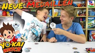 Yo-Kai Watch Deutsch Medaillen im Blindbag Yo Kai Test TipTapTube Kinderkanal