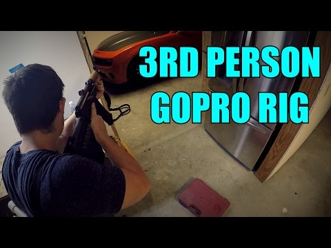 DIY 3rd Person GoPro Rig For CHEAP!