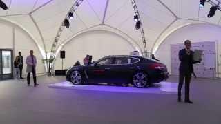 Презентация Porsche Panamera 2014