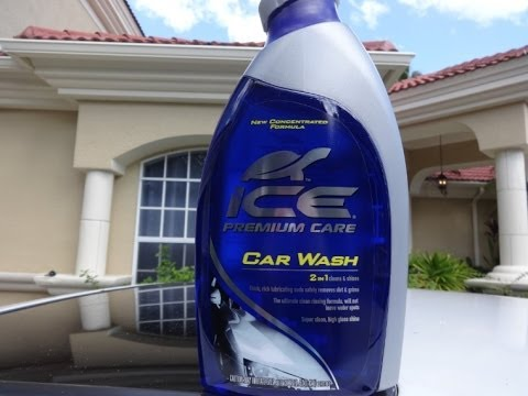 turtle wax ice premium care car wash test review results. Black Bedroom Furniture Sets. Home Design Ideas