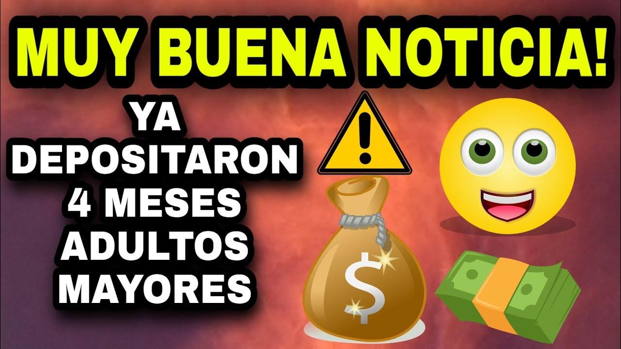 ¡ATENCION! Ya DEPOSITARON El Adelanto De La Pension Para Adultos Mayores / DE ULTIMA HORA!!!