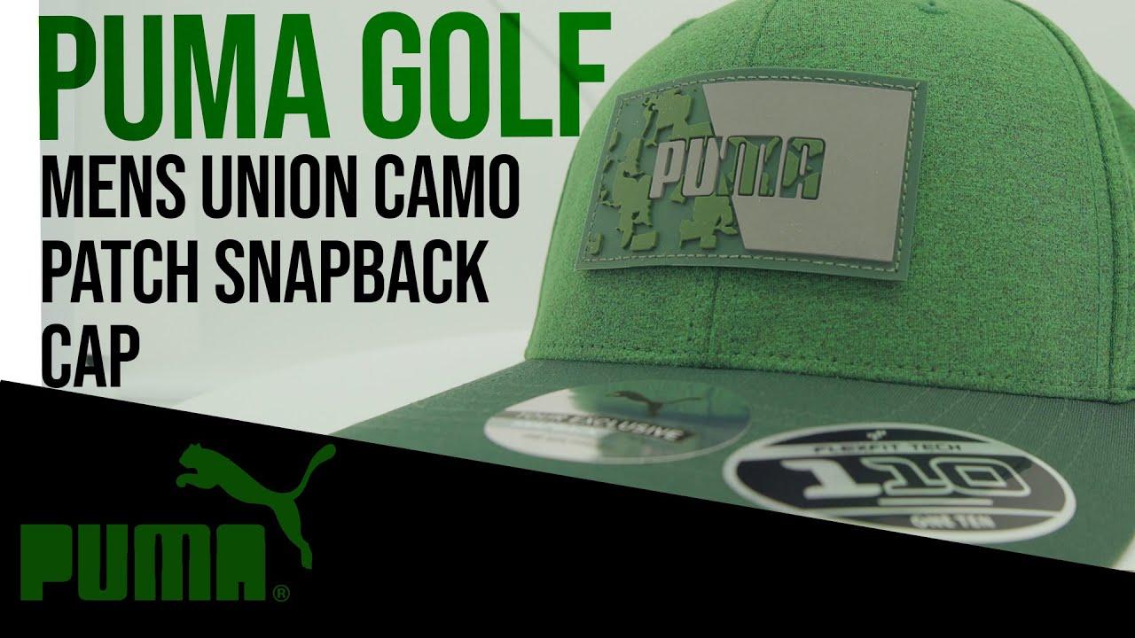 c9c7e7380 Puma Golf Mens Union Camo Patch Snapback Cap Product Overview