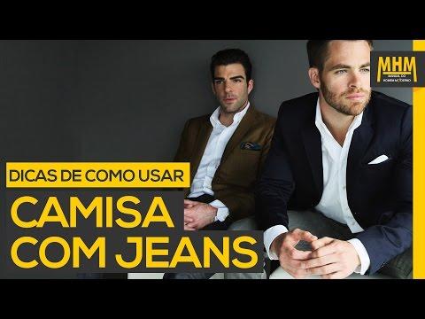 Camisa social com Jeans: Dicas e Truques   Moda Masculina