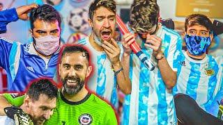Reacciones de Amigos | Argentina vs Chile | Eliminatorias Qatar 2022