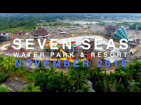 Seven Seas Water Park & Resort November 2016 Progress Update 4K