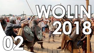 WOLIN 2018 - 02 - BRIDGE FIGHT FINAL - FESTIVAL DES SLAVES ET DES VIKINGS DE WOLIN [FR]