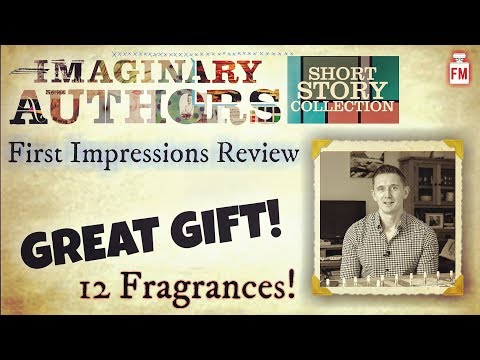 Imaginary Authors Short Story Collection/Sample Set First Impressions Review. Perfect Christmas Gift