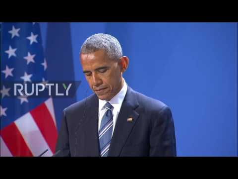 Germany: Obama calls Russia a 'military superpower,' urges greater cooperation