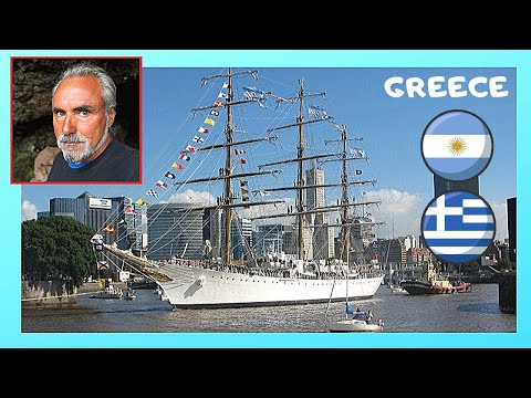 ARGENTINIAN Navy Frigate (ARA LIBERTAD) visits the port of PIREAS (GREECE)