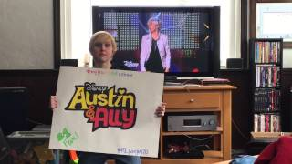 AUSTIN AND ALLY'S NUMBER 1 FAN!!!! :) PLEASE GET ELLEN DEGENERES TO SEE MY VIDEO!!!!!!!!!! :'( :'(