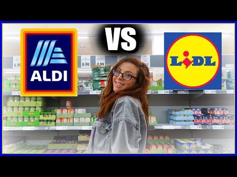 😱 WHICH IS CHEAPER?! 🤔 Lidl -v- Aldi