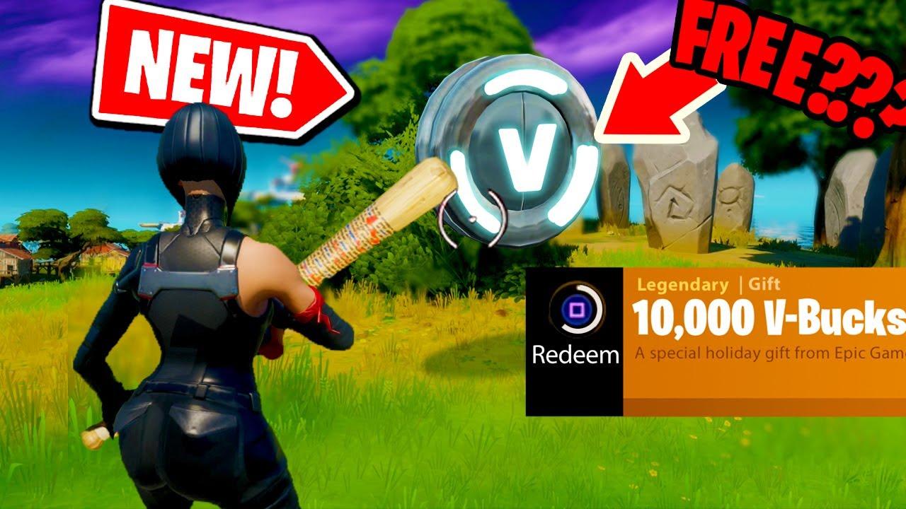 *NEW* How to get 10,000 V-BUCKS for FREE by SLURPY SWAMP ...