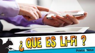 LLEGA EL LI-FI: Una tecnologia que promete una velocidad muy superior al Wi-Fi
