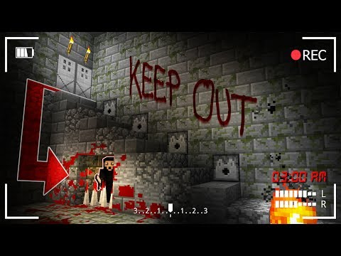 Do NOT ENTER THIS BASEMENT AT 3AM! (Minecraft Secret Recordi