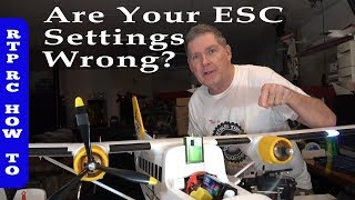 Multi Engine ESC Throttle Calibration and Brake Setup