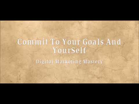 Jim Rohn Commit To Yourself And Accomplishing Your Goals